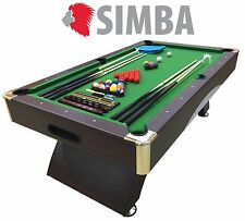 7 Ft Pool Table Billiard Playing Cloth Indoor billiards table new - ANNIBALE