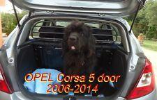 Trennnetz Trenngitter Hundenetz Hundegitter eisen OPEL Corsa 5t ab BJ 2006