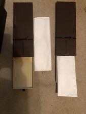 "Louis Vuitton Gift Box Storage Empty ""Box Only"" BrownLot 7 Boxes Sm Med Lrg Box"