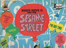 WALT DISNEY disco LP  Sesame Street 1970 OST