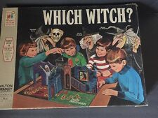 Which Witch? Haunted House Board Game 1970 Milton Bradley