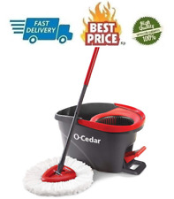EasyWring Microfiber Spin Mop, Bucket Floor Cleaning System