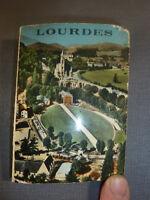 Antico souvenir di Lourdes, 16 photos, Edlux francese memoria Lourdes