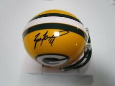 NFL Green Bay Packers Brett Favre Autographed Mini Helmet with COA
