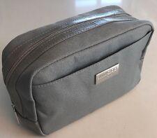 Jimmy Choo Parfums Gray toiletry dopp kit travel pouch bag New