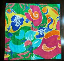Ralph Lauren Costa Paradiso Bright Rare Euro Pillow Sham Usa Abstract Print Mint