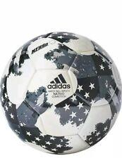 adidas MLS Nativo NFHS Ball White/Silver Metallic/Black Size 5
