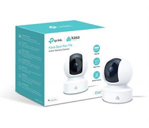 TP-Link Kasa Smart Wi-Fi Indoor Security Camera, 360° pan, 2-Way Audio Night Vis
