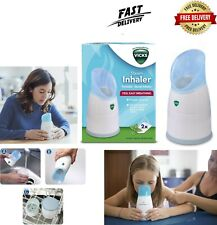 Vicks Steam Inhaler│Nasal-Sinus Congestion│Cough Cold Flu Relief Vapour Therapy