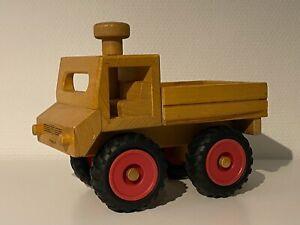 Fagus LKW / Unimog Kinderspielzeug / Holzspielzeug