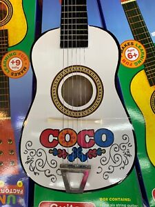 White Guitar Kids Coco Free Gift Wrapped.