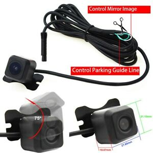170 Degree HD No Blind Spot Car Front Or Rear View Reverse Camera Waterproof