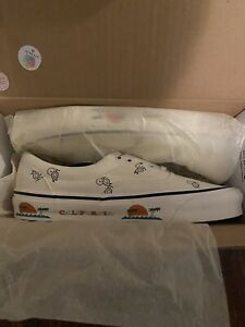 Vans Vault OG Era LX Paisley California Size 11.5 Classic White Cream Rare