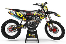 Full Decal Kit Deco Motocross 450 CRF Alpinestars 2 MX ATV Quad Graphics