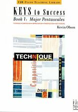 Keys To Success Book 1 Major Pentascales Piano 2003 Olson Transposition Compose