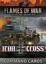 Flames of War - Iron Cross German Command Cards