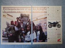 MOTOSPRINT993-PUBBLICITA'/ADVERTISING-1993- HONDA 125 RAIDEN (2 fogli)