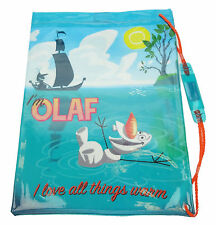 Boys Disney Frozen Olaf PVC School Swimming Swim Bag