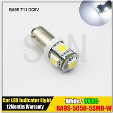 1X 6V BA9S T11 CLASSIC CAR MOTORCYCLE SCOOTER LED BULB GLB951 GLB293