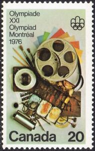 1976 CANADA MONTREAL OLYMPICS PERFORMING ARTS 20¢ STAMP, MINT MNH, Scott #684