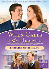 When Calls The Heart: It Begins With Heart (2016, DVD New)