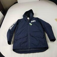 Helly Hansen mens  Jacket small Mens coat  blue navy puffer winter $280 m