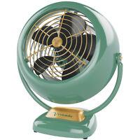 Vornado Vintage 3-Speed Whole Room Air Circulator Fan in Green