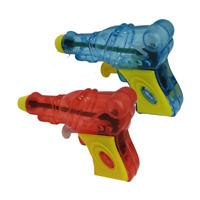 6x Wasserpistole 9cm Wasserspritze Wassergewehr Poolkanone New Design