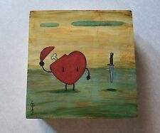 Daniel Elson the thanks original painting wood