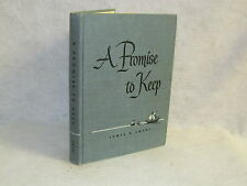 Vintage Book - A Promise To Keep by James D. Smart