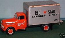 51 FORD RED STAR EXPRESS BOX VAN  FIRST GEAR MINT 1ST