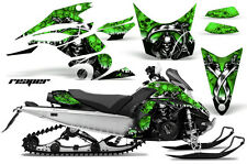 Snowmobile Graphics Kit Decal Sticker Wrap For Yamaha FX Nytro 08-14 REAPER GRN