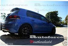 VOLKSWAGEN VW GOLF MK6 2009-2013 WINDOW VISOR GUARD WEATHER SHIELDS GTI R VI
