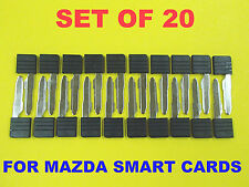 NEW Set Of 20 Smart Card Replacement Emergency Key D4Y1-76-2GXA NO Chip Lot Bulk