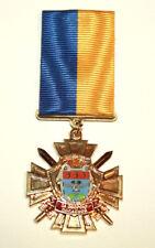 "Medal Order Award Army Ukraine "" For Defense Popasnaya City "" Ukraine War Russia"