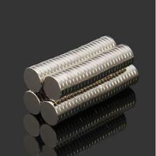 100pcs N52 NdFeB Super Strong Disc Magnets 10mm x 2mm Rare Earth Neodymium