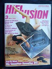 HIFI VISION 3/91.  ADE MCA 200,AUDIO EXCLUSIV P2,B&M KONSENS,BRYSTON 12B RX,