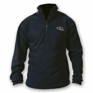 Ridgeline Micro Fleece Zip Hunting Top Black