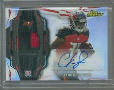 CHARLES SIMS RC AUTO REFRACTOR 3 COL PATCH 2014 TOPPS FINEST BUCS WVU