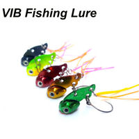 3D Auge Angeln Spoon Lure Lead Casting Mini Metal VIB Lures Jig Metal Slice