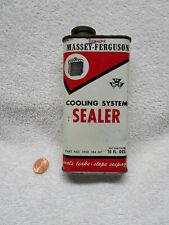 Antique Massey-Ferguson Farm Tractor Radiator Seal Not Oil Tin Can Detroit