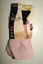 legging vieux rose neuf de marque Lauve taille unique qualité 50 DEN
