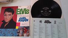 ELVIS PRESLEY GIRL HAPPY SHP 5436 Original 1965 JAPAN ONLY BLACK VICTOR LP