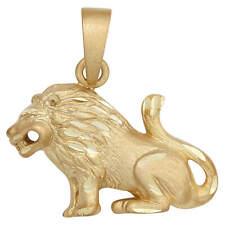 Löwe Sternzeichen Silber 925 Löwe Herz diamantiert Silber Sterlingsilber st125