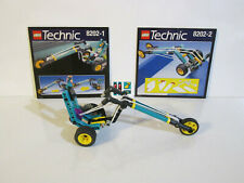 Lego Technic Competition 8202 Bungee Chopper 100% Complete unused stickers 1998