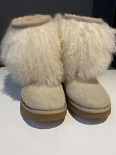 Ugg Australia Boots Lamma Wool Size 7.5 Uk