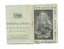 """Libretto Sacro """"Preghiamo per i nostri morti"""" Primo 900"""