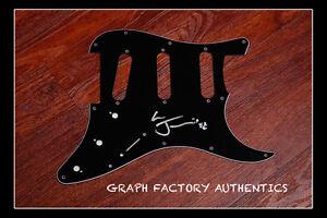 GFA Pulp Band JARVIS COCKER Signed Electric Pickguard AD3 COA