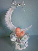 Unique Baby Shower Cake Topper for Boy Centerpiece, keepsake Favor, decoracion