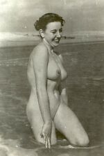D311 # photo CA 1960 pin-up girl Full NUDE NUDO nu acte seins ver nudiste Bain Bath